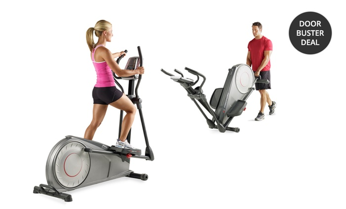 amount of on elliptical an average burned calories