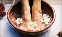 One or Three Massages or 10 Detox Footbaths at Optimal Health Chiropractic (Up to 76% Off)