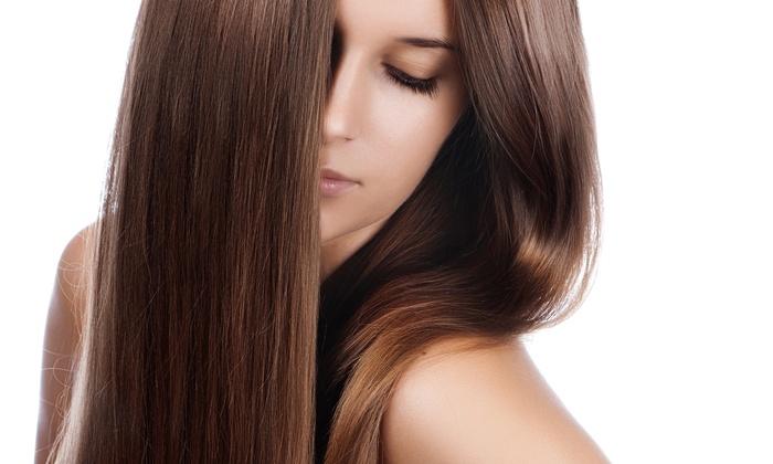 Keratin treatment beny 39 s hair salon groupon - Hair straightening salon treatments ...