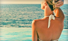 One or Three Spray Tans at Brown Sugar Spray Tanning (Up to 54% Off)