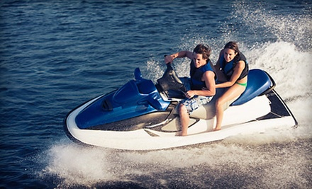 Half-Hour Jet-Ski Rental or Four-Hour Jet-Ski Tour of New York City Harbor for Two from Rockaway Jet Ski (Up to 53% Off)