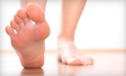Three Laser Toenail-Fungus Treatments on Up to 5 or Up to 10 Toes at Sheehy Ankle &amp; Foot Center (Up to 74% Off)
