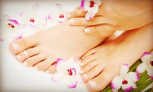 One or Two Spa Mani-Pedis at Belissa Salon and Spa (54% Off)