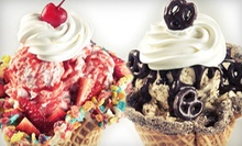 $10 for $20 Worth of Ice Cream and Frozen Yogurt at Marble Slab Creamery
