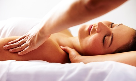 55- or 80-Minute Therapeutic Massage or Three 30-Minute Massages at Elements Massage Richardson (Up to 55% Off)