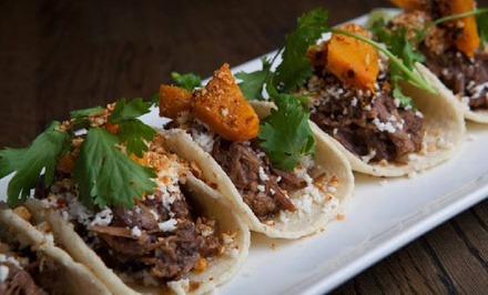Tacos and Drinks for Two or Four at Takito Kitchen (Up to 39% Off). Four Options Available.
