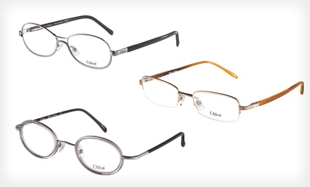 Chloe Womens Optical Frames Deal of the Day Groupon
