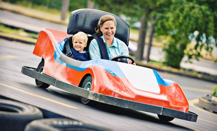 Unlimited Rides Plus Go-Kart Rides for One, Two, or Four at Keansburg Amusement Park (Up to 54% Off)
