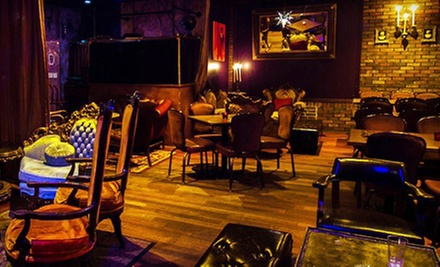 Hors d'oevre, Drinks, and Hookah or New American Dinner with Drinks for Two or Four at Downhouse (Up to 62% Off)