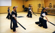 One or Two Months of a Single Type of Swordsmanship Fitness Class at SBM Wellness Center (Up to 76% Off)