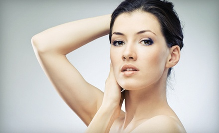One or Three Laser Skin-Rejuvenation Treatments for the Face at Violet Clinic (Up to 59% Off)