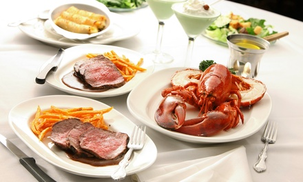 Steak, Seafood, and Wine for Dinner at Jax Cafe (Up to 30% Off). Two Options Available.