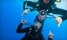 $185 for a PADI Open Water Diver Certification Course at Columbia Scuba ($399 Value)