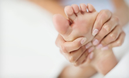 55-Minute Reflexology Massage or 50-Minute Eclectic Mix Massage at Go Madd 4 Massage (Up to 54% Off)