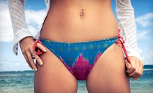One or Two Brazilian or Bikini Sugaring Treatments at Destiny Derma Spa & Salon (Up to 62% Off)