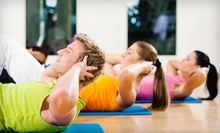 Eight-Week Combo Fitness Classes with One, Two, or Three Sessions a Week at LizzFitness (Up to 78% Off)