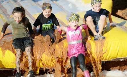 $20 for Registration for One Child in the Mud Factor Kidz Obstacle-Course Run ($40 Value)