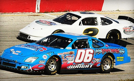 $69 for a Five-Lap Ride with a Professional Driver in a Stock Car at Competition 101 Racing School ($139 Value)