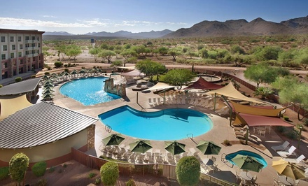 groupon daily deal - 1-Night Stay for Two in a Standard Room with Dining Credit at We-Ko-Pa Resort and Conference Center in Scottsdale, AZ