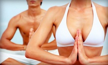 One Month of Unlimited Yoga Classes, or 10 or 20 Yoga Classes at Yoga Mix Studio (45% Off)