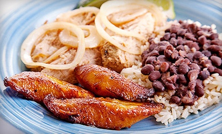 All-You-Can-Eat Brunch for Two or $12 for $25 Worth of Caribbean Fare at Caribbean Dutch Pot Restaurant