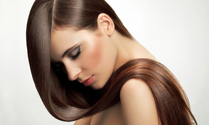 Hair Stylyn - Hair Stylyn: Brazilian Blowout with a Cut at Hair Stylyn