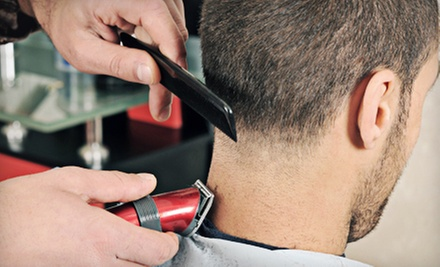 One or Two Men&#x27;s Haircuts and Washes at Antonio&#x27;s Barbershop (Up to 56% Off)