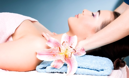 Massage with Essential Oil, Signature Facial, or Both at Merlot Spa (Up to 58% Off)
