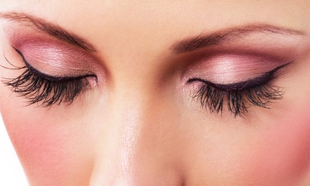 Full Set of Eyelash Extensions or Premium Diva Eyelash Extensions at The Girls' Lounge (60% Off)