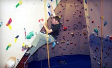 Indoor Rock-Climbing Visit for Two or Week of Unlimited Rock Climbing for Two at Rockzilla (Up to 65% Off)