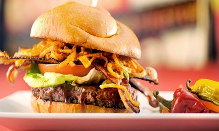 Burgers and Shakes for Lunch or Dinner at KGB: Kerry's Gourmet Burgers (Up to 40% Off). Two Options Available.