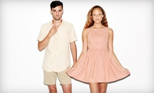 $10 for $20 Worth of Clothing and Accessories from American Apparel