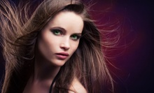 Haircut, Shampoo, and Style with Optional Full Color or Partial or Full Highlights at Salon Serenity (Up to 59% Off)