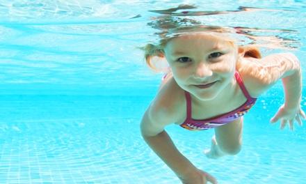 $54 for Four Children's Swim Classes at Aqua-Tots Swim School of Austin ($109 Value)