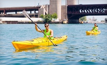Kayak Tour from Urban Kayaks (Up to 52% Off). Four Options Available.