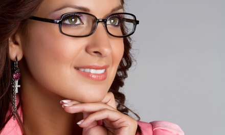 $58 for an Eyecare Package with an Exam and $225 Toward Frames and Lenses at Vision Source ($435 Value)
