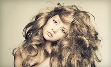 Haircut with Optional Single-Process Color or Partial Highlights at Nubia's Hair Color Studio (Up to 55% Off)