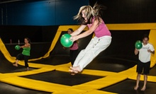 One Hour of Jump Time for Two or Four, or One Month of Fitness Classes at Get Air Hang Time Orem (Up to 52% Off)