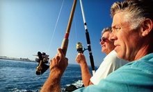 $179 for a Half-Day Fishing Trip for Up to Four at Triple Hook Fishing (Up to $450 Value)