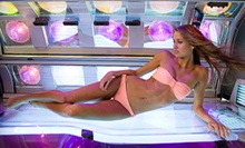 Two Spray Tans or One Month of Unlimited UV Tanning at Aruba Tan (Up to 56% Off)