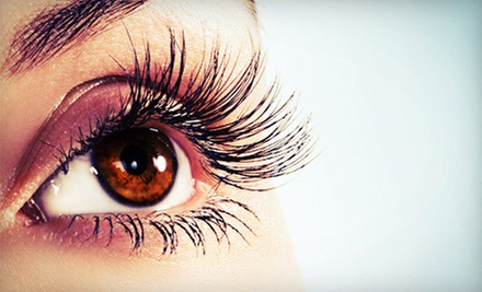 Full Set of Silk Eyelash Extensions with Optional Touchup Session at Gigi of Westport (78% Off)