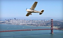 Flying Lesson Packages for up to Two People at Advanced Flyers (Half Off)