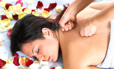 Massage and Scrub Packages at West Ave Spa (Up to 54% Off). Three Options Available.