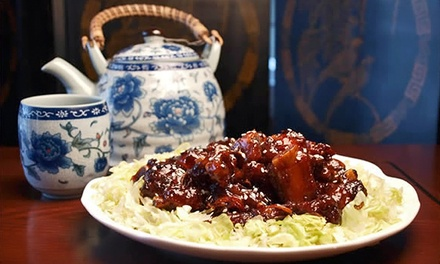 Chinese Dine-In Dinner for Two or Four, or Chinese Takeout Cuisine at Tian Jin Chinese Restaurant (Up to 45% Off)