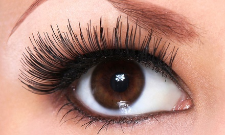 Full Set of Natural or Classic Eyelash Extensions at G-Lash (Up to 52% Off)