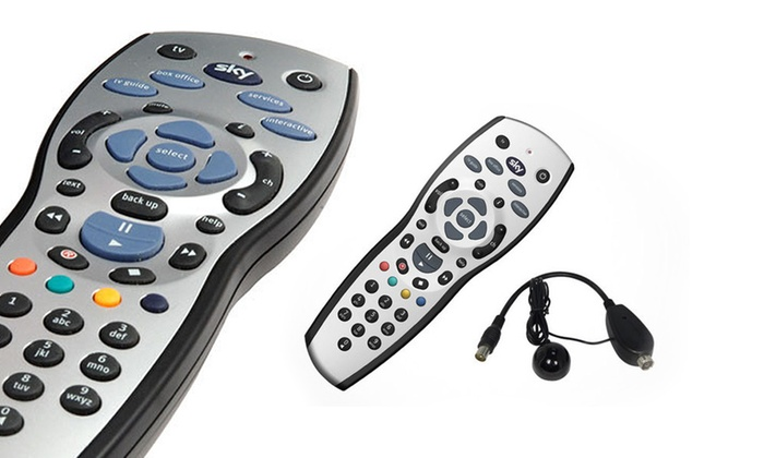 Groupon Goods Global GmbH: Sky Remote (£12.98) With Multi-Room Sensor (£19.98) With Free Delivery (Up to 50% Off*)