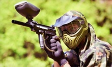 Paintball Package with Equipment, Unlimited Air Fills, and Paintballs for Two or Four at NVP Paintball (Half Off)