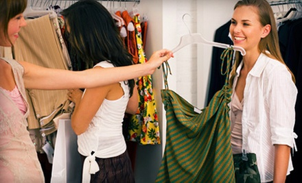 $10 for $20 Worth of Brand-Name Consignment Clothing at Upscale Consignment