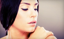 Permanent Eyeliner on Upper, Lower, or Both Eyelids, or Eyebrows at Beauty by Design (Up to 56% Off)