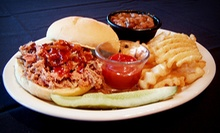 $16 for Two Groupons, Each Good for $16 Worth of Barbecue and Comfort Food at 9 South Chargrill ($32 Total Value)